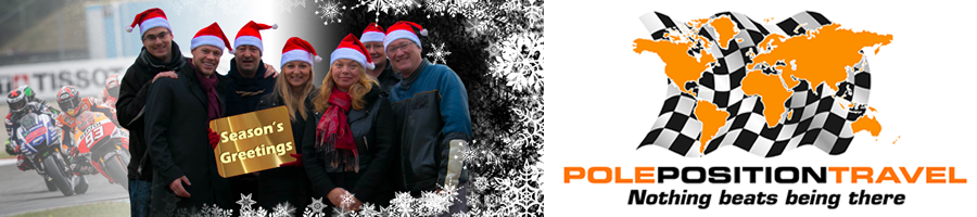 Happy Holidays from Pole Position Travel
