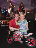 Brno charity party with Danny Webb