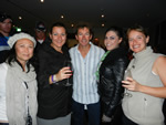 Troy Bayliss with the Pole Position girls